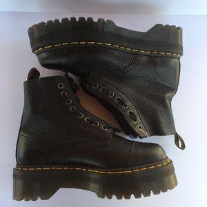Dr Martens Sinclair Combat Platform Boots Size 8